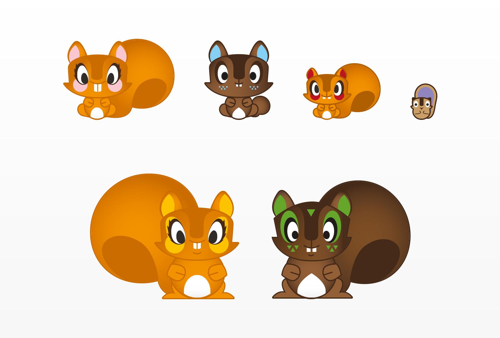 chokidu_characters